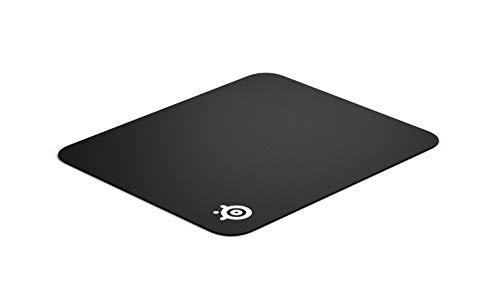 SteelSeries QcK - Tapis de souris Gaming - 320mm x 270mm x 2mm - Tissu - Base en gomme - Noir