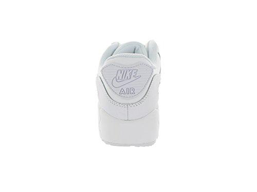 Nike - Scarpe da ginnastica AIR MAX 90 (PS), Unisex - bambino WHITE/PHT BL-HYPR CBLT-TM ORNG/WOLF GREY