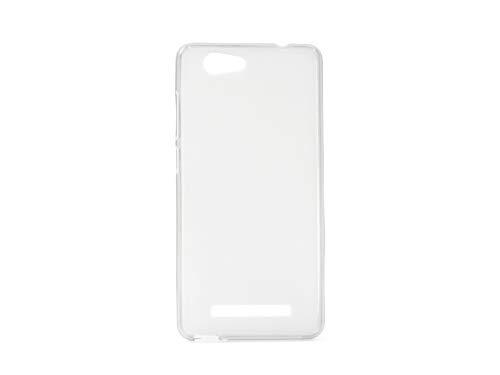 etuo Allview X3 Soul Lite - Hülle FLEXmat Case - Weiß - Handyhülle Schutzhülle Etui Case Cover Tasche für Handy