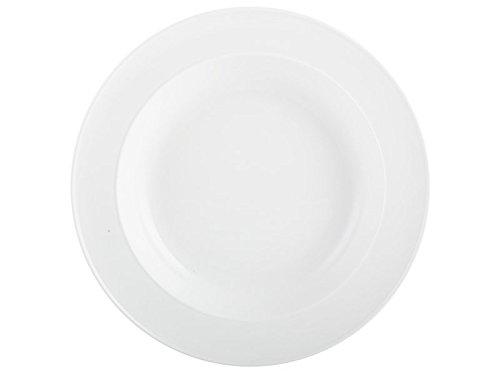 Mikasa-Ciotola in gres per Pasta, in porcellana, colore: bianco