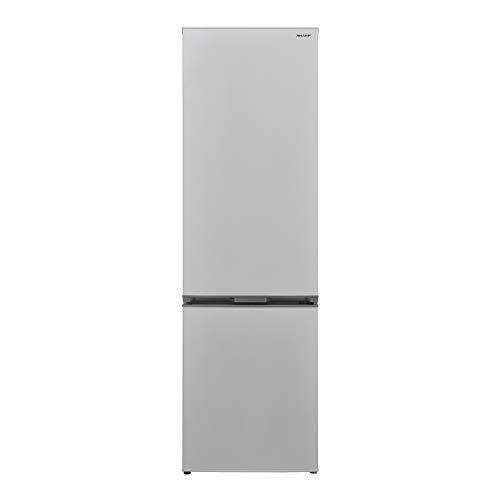 Sharp SJ-BA05IMXW2-EU Kühl-Gefrier-Kombination / A++ / Höhe 180 cm / Kühlteil 194 L / Gefrierteil 194 L / NoFrost / LED-Piktogramme / Gemüseschubfach mit Feuchtigkeitsregler / weiß