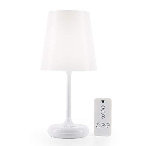 Brilex Table Lamp Lámpara de Escritorio con 3 Modos de Iluminación, Control Táctil y Control Remoto, Personalización Inteligente de Sincronización, Luz Suave Para Niños, Baby Nursing, Dormitorio