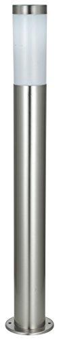 Wegeleuchte aus Edelstahl Höhe 110 cm Gartenleuchte Gartenlampe