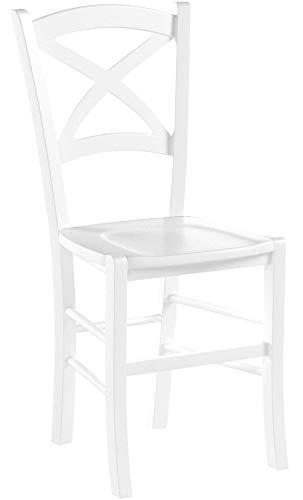 Tommychairs - Set 2 sillas Modelo Cross para Cocina, Comedor, Bar y...