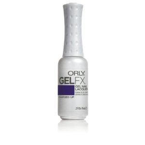 Orly GelFx Nail Lacquer Manicure Infused with Vitamin A and E, Charged Up Gel 9 ml by Orly GelFX (English Manual)