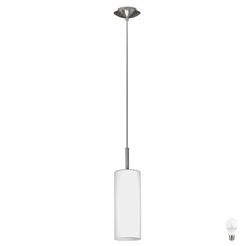 Decken Pendel Leuchte Wohn Ess Zimmer Beleuchtung Glas Hänge Lampe im Set inkl. LED Leuchtmittel