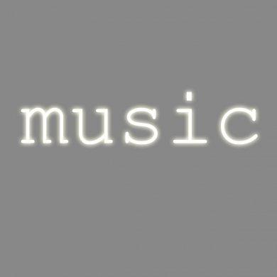 'Composition Music 5 Lettres Neon + Transformateur 01424 – 6 KV