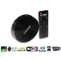 Orbsmart® S82 Android 4.4 Quad Core Mini PC (16GB) / TV Box / 4K (UHD) MediaPlayer / Smart TV Box (Octa Core GPU, 2GB RAM, 16GB int. Speicher, HDMI 1.4, LAN, WLAN-n 2.4/5GHz, Bluetooth 4.0, XBMC & Miracast Support) (Core Gpu)
