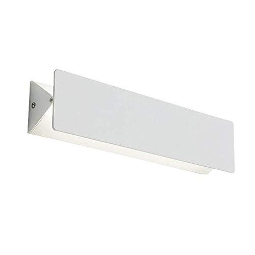 Led Spiegelleuchte Weiß Aluminium Badlampe Innen Wandlampe Drehbar Wandleuchte Schranklampe Spiegelschrank Wandlicht Schminklicht Nachttischlampe,Kühle Weiß Licht,10W 35 * 8 * 5.5CM