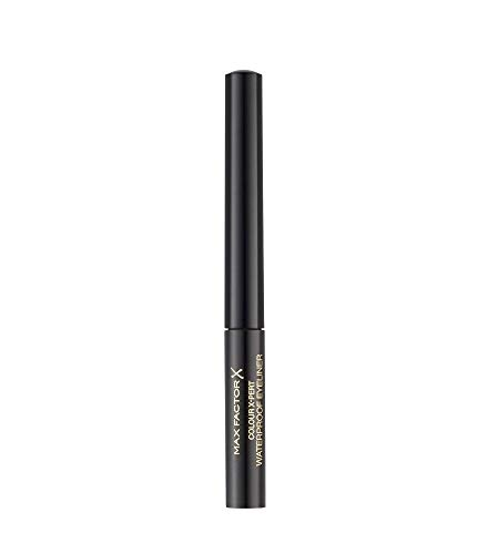 Max Factor Colour X-Pert Waterproof Eyeliner Deep Black 01 - Flüssig Eyeliner Schwarz - Für das perfekte Cat Eye - 1 x 2 ml