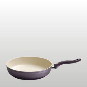 Kelomat cera hochraumpfanne à induction en céramique 28 cm (violet)