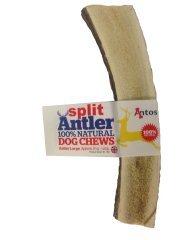 100% Natural Split groß Antler Dog Chews Spielzeug die Hypoallergen Hund kauen (groß 81-120g) -