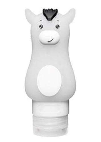 KKRIIS Bad Küche Flüssigseifenspender Flasche Waschbecken Ersatz Hand Flüssigkeit Tragbare Reise Seifenspender Badzubehör, 70 ml (Tragbare Hand-waschbecken)