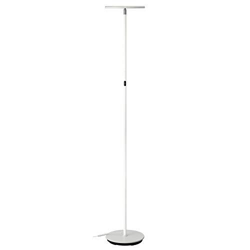 Preisvergleich Produktbild PHIVE LED Stehlampe,  Dimmbar Super Helle 30 Watt 3000 Lumen (Einstellbare Lampenkopfrichtung,  3000 Kelvin Warm Licht,  Berührungsempfindliche 3 Helligkeitsstufen,  Wohnzimmer / Schlafzimmer) Weiß