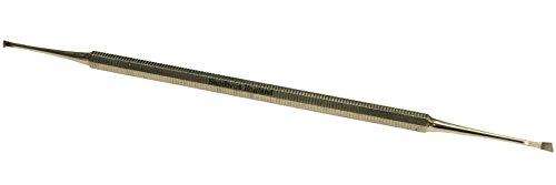 Dental Scaler–mit zwei Spitzen Zahnstein Entferner–Schaber, professionelles Werkzeug–Edelstahl NEU -