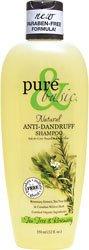 Pure & Basic, Shampooing antipelliculaire naturel, arbre de thé de romarin, 12 fl oz (350 ml)
