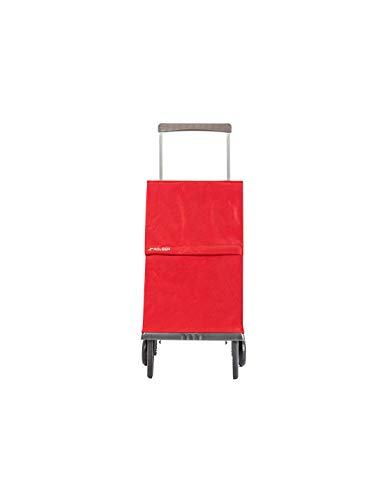 Rolser Carro Plegamatic MF 2 Ruedas Plegable - Rojo