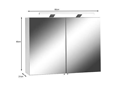 Spiegelschrank mit Steckdose für das elegante Badezimmer - 4