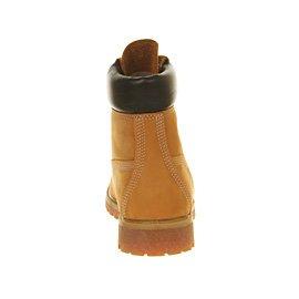 72066 Rouille Orange, Bottes Premium De 6 Pouces Timberland Mens Blanc cassé - Wheat Nubuck