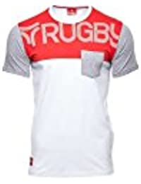 Tee-shirt rugby adulte - Rosso - Rugby Division