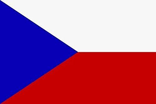 U24 Fahne Flagge Tschechien Bootsflagge Premiumqualität 40 x 60 cm