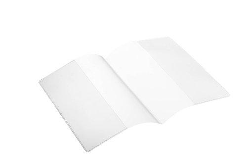 Durable 214019 Schutz- und Ausweishülle, Doppelhülle für Dokumente DIN A6 (210 x 148 mm), 10 Stück, transparent