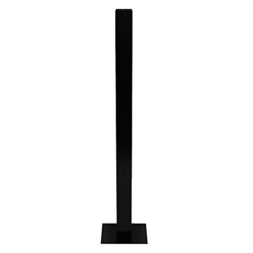 BURG-WÄCHTER, Briefkasten-Ständer, Aluminium, Europa EST 1 S, Schwarz