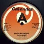 Sarr Band - Magic Mandrake / Double Action - Calendar Records