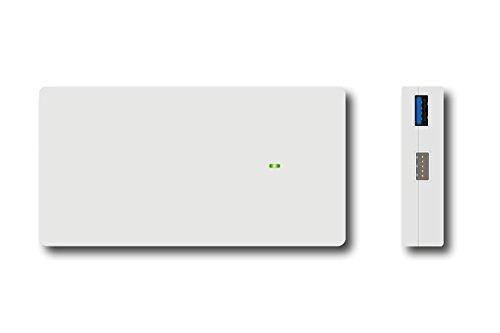 Lizone® Akkuladegerät, tragbares Ladegerät mit 5 Anschlüssen, Power Bank für Schnellladung für Microsoft Surface Pro3, Pro4, Surface Book, USB-Anschluss für das neue Apple Macbook 12 Zoll, iPhone, iPad, Samsung, Note, Nexus