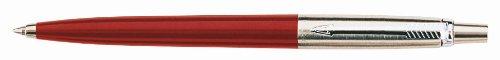 Preisvergleich Produktbild Parker S0881121 Kugelschreiber Jotter Rot, Druckmechanik, M, blau