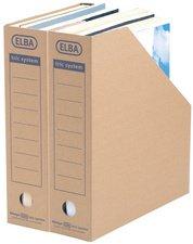 ELBA Archiv-Stehsammler tric System, naturbraun VE = 12