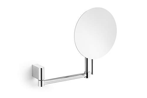 ZACK Wand-Kosmetikspiegel ATORE 40468, hochglanz poliert, Zoom 5:1, H. 25,2 cm