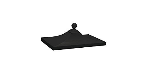 salsbury-industries-3350blk-regency-decorative-cbu-top-black-by-salsbury-industries