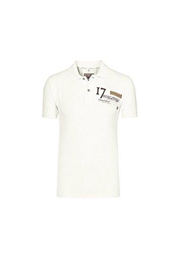 Stockerpoint - Herren Trachten T-Shirt, Samu, Größe:S;Farbe:Ecru