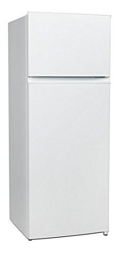 MEDION MD 37093 Kühl-Gefrierkombination, 207 Liter, Automatische Abtaufunktion, Türanschlag wechselbar, weiß