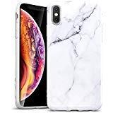 ESR Coque iPhone XS Max 2018 Marbre, Coque Silicone Motif Marbre, Housse Etui de...