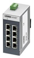 ETHERNET SWITCH, 8 RJ45-10/100 MBPS FL SWITCH SFNB 8TX By PHOENIX CONTACT -