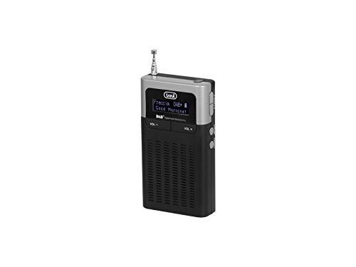 Trevi DAB 793 R Radio Portatile con Ricevitore Digitale, Sistema DAB / DAB+ e FM