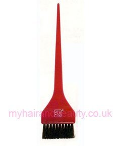 Crimped Nylon-Bristle Tint Brush red