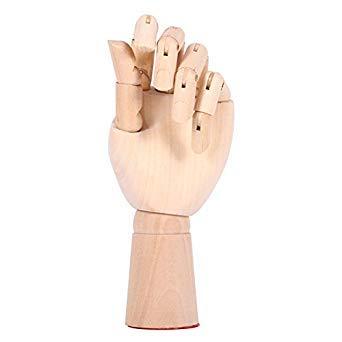Bloomerang 10 Zoll Frauen Holz Modle Linke Hand Künstler Kunsthandwerk Malerei Figur Gemeinsame Flexible Decorati