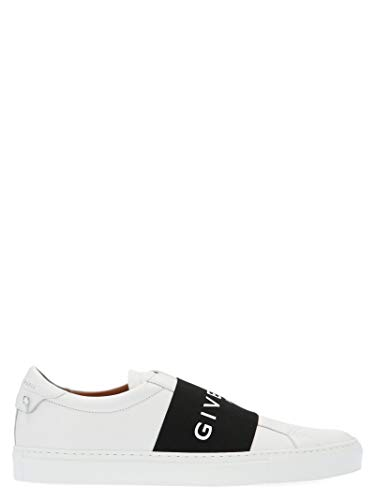 Givenchy Herren Bh0002h0fu116 Weiss Leder Slip On Sneakers (Givenchy Top)