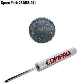 HP Inc. Battery,Clock CR-2032 Bulk, 234556-001-RFB (Bulk System Battery, CR2032 3V Lithium)