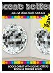 Boules Disco murale géante Happy Birthday Princess–Lot de 2