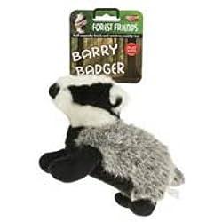 Barry Badger Squeaky Soft Hundespielzeug (Größe: klein), einen Artikel