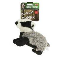 Animal Instincts Baby Barry Hundespielzeug aus Plüsch, mit Quietschelement