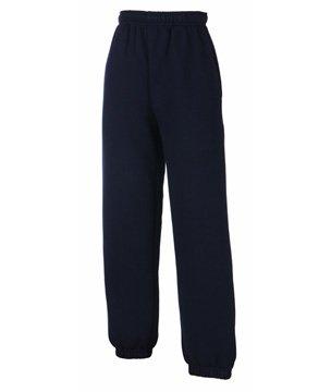 Fruit Of The Loom Childrens/Kids Unisex Jog Pants / Jogging Bottoms (9-11) (Deep Navy)