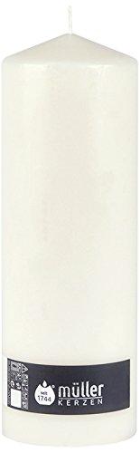Müller Cirio Wind Luz Vela XXL 290x 97mm, Color Blanco