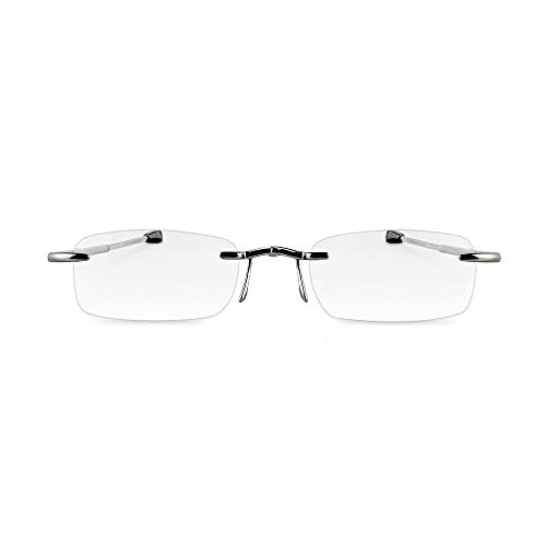 Elegante randlose faltbare Lesebrille eye-pocket XL - 4