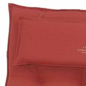 sun garden 10150838 50215–33 10118240 Coussin pour fauteuil à dossier bas, 60% polyester/40% coton, L 103 x 52 x 8 cm