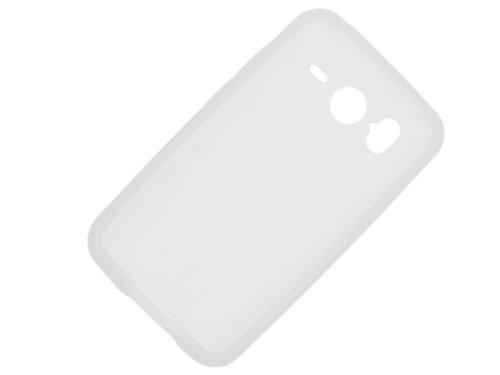 Étui en silicone case Coque HTC Desire HD White + chèque cadeau